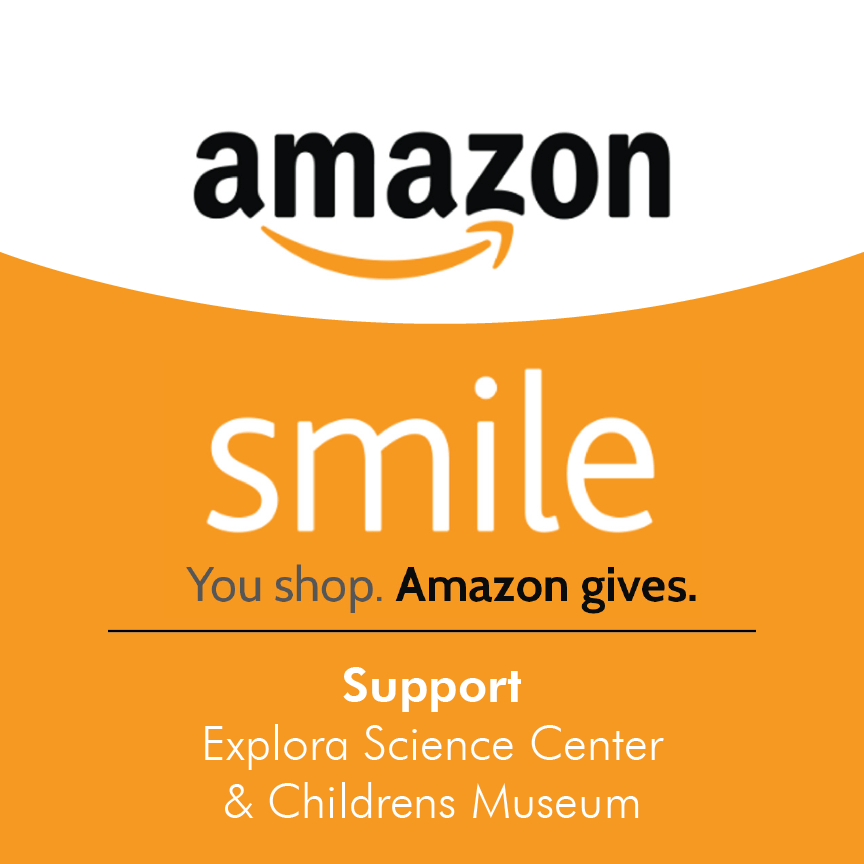 Amazon Smile, Support Explora Science Center & Children's Museum