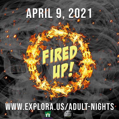 Adult Night Fired Up Graphic